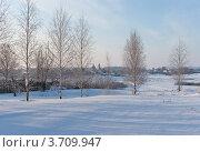 Купить «Морозное мартовское утро в Суздале», эксклюзивное фото № 3709947, снято 11 марта 2012 г. (c) Павел Широков / Фотобанк Лори