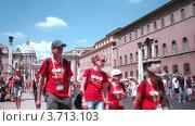 Купить «Туристы в Ватикане, Рим, Италия, таймлапс», видеоролик № 3713103, снято 29 октября 2010 г. (c) Losevsky Pavel / Фотобанк Лори