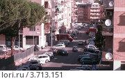 Купить «Движение большегрузного транспорта на улицах Рима днем», видеоролик № 3713151, снято 10 ноября 2010 г. (c) Losevsky Pavel / Фотобанк Лори
