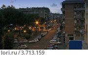 Купить «Движение транспорта на улицах Рима ночью», видеоролик № 3713159, снято 22 сентября 2010 г. (c) Losevsky Pavel / Фотобанк Лори