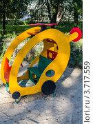 Детский домик вертолет. Стоковое фото, фотограф Андрей Корж / Фотобанк Лори