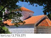 Купить «Церковь Св. Троицы, Будва, Черногория», фото № 3719371, снято 15 июня 2012 г. (c) Доброславская Галина / Фотобанк Лори