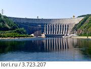 Купить «Саяно-Шушенская ГЭС, Хакасия», эксклюзивное фото № 3723207, снято 6 июня 2012 г. (c) Антон Афанасьев / Фотобанк Лори