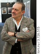 Купить «Король папарацци Рино Барилари», фото № 3726515, снято 10 сентября 2011 г. (c) Андрей Жухевич / Фотобанк Лори