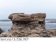 Камень на берегу. Стоковое фото, фотограф Андрей Бекетов / Фотобанк Лори
