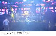 Купить «Ночной клуб(Таймлапс)», видеоролик № 3729403, снято 17 марта 2011 г. (c) Losevsky Pavel / Фотобанк Лори