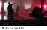 Купить «На съемках видеоклипа(Таймлапс)», видеоролик № 3729683, снято 18 декабря 2010 г. (c) Losevsky Pavel / Фотобанк Лори