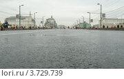 Купить «XXX Московский международный марафон(Таймлапс)», видеоролик № 3729739, снято 8 декабря 2010 г. (c) Losevsky Pavel / Фотобанк Лори