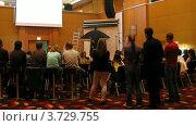 Купить «Алексей Сизов дает мастер-классы на II Международной конференции по STOCKinRUSSIA10», видеоролик № 3729755, снято 12 декабря 2010 г. (c) Losevsky Pavel / Фотобанк Лори