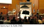 Купить «Международная конференция STOCKinRUSSIA10 (Таймлапс)», видеоролик № 3729795, снято 12 декабря 2010 г. (c) Losevsky Pavel / Фотобанк Лори