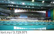 Купить «Открытый чемпионат России по плаванию», видеоролик № 3729971, снято 18 марта 2011 г. (c) Losevsky Pavel / Фотобанк Лори