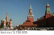 Купить «Красная площадь», видеоролик № 3730935, снято 2 марта 2011 г. (c) Losevsky Pavel / Фотобанк Лори