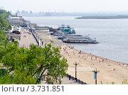 Купить «Хабаровск, центральная набережная», эксклюзивное фото № 3731851, снято 23 мая 2012 г. (c) Антон Афанасьев / Фотобанк Лори