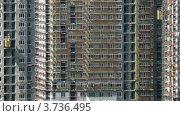 Купить «Строительство высокого здания(таймлапс)», видеоролик № 3736495, снято 6 июля 2011 г. (c) Losevsky Pavel / Фотобанк Лори