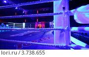Купить «Пустой ринг», видеоролик № 3738655, снято 15 июля 2011 г. (c) Losevsky Pavel / Фотобанк Лори