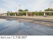 Купить «Московская монорельсовая транспортная система (ММТС). Москва», эксклюзивное фото № 3738907, снято 22 июля 2012 г. (c) stargal / Фотобанк Лори