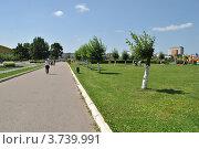 Купить «Парк города Одинцово. Московская область», эксклюзивное фото № 3739991, снято 4 июля 2012 г. (c) lana1501 / Фотобанк Лори