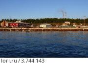 Пристань. Северобайкальск. Утро. Стоковое фото, фотограф Алина Сысоева / Фотобанк Лори