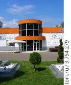 Купить «Современный музей каллиграфии. Парк «Сокольники». Москва», эксклюзивное фото № 3754279, снято 5 августа 2012 г. (c) lana1501 / Фотобанк Лори