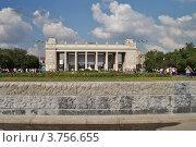 Купить «Парк Горького. Москва», эксклюзивное фото № 3756655, снято 12 августа 2012 г. (c) lana1501 / Фотобанк Лори