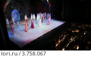 Купить «Театр Новая Опера», видеоролик № 3758067, снято 2 ноября 2011 г. (c) Losevsky Pavel / Фотобанк Лори