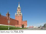 Купить «Спасская и Царская башни Московского Кремля», эксклюзивное фото № 3758379, снято 3 августа 2012 г. (c) Елена Коромыслова / Фотобанк Лори