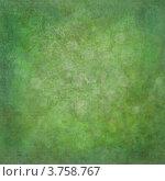 Абстрактная текстура: силуэты зелени (травы) на гранжевом зеленом фоне. Стоковая иллюстрация, иллюстратор Юлия Шевченко / Фотобанк Лори