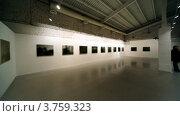 Купить «Посетители на фото выставке», видеоролик № 3759323, снято 13 декабря 2011 г. (c) Losevsky Pavel / Фотобанк Лори