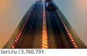 Купить «Машины едут с уровень на уровень в подземном гараже», видеоролик № 3760791, снято 4 ноября 2011 г. (c) Losevsky Pavel / Фотобанк Лори