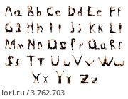 Купить «Люди в чёрной одежде стоят в позе букв латинского алфавита», фото № 3762703, снято 30 июля 2012 г. (c) Tatjana Romanova / Фотобанк Лори