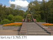 """Купить «Лобня. Мемориал """"Звонница""""», эксклюзивное фото № 3765171, снято 10 августа 2012 г. (c) Pukhov K / Фотобанк Лори"""