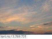 Краски закатного неба. Стоковое фото, фотограф Алексей Сахаров / Фотобанк Лори