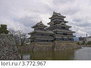 Купить «Замок Мацумото, Япония. Статус – Национальное сокровище.», фото № 3772967, снято 7 апреля 2012 г. (c) Иван Марчук / Фотобанк Лори