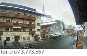 Купить «Отель Тироль в Зольдене, Австрия, таймлапс», видеоролик № 3773567, снято 2 марта 2012 г. (c) Losevsky Pavel / Фотобанк Лори