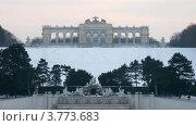 Купить «Глориетта Шенбрунна на закате, Вена, таймлапс», видеоролик № 3773683, снято 2 марта 2012 г. (c) Losevsky Pavel / Фотобанк Лори
