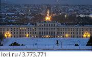 Купить «Дворец Шенбрунн вечером, таймлапс», видеоролик № 3773771, снято 3 марта 2012 г. (c) Losevsky Pavel / Фотобанк Лори