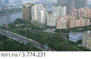 Купить «Строительство комплекса зданий телевещательной компании, таймлапс, Китай», видеоролик № 3774231, снято 16 января 2012 г. (c) Losevsky Pavel / Фотобанк Лори