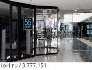 """Купить «Роскошный бутик """"55"""" на улице Антиб, Канны», фото № 3777151, снято 13 июня 2010 г. (c) ElenArt / Фотобанк Лори"""