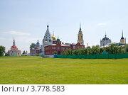 Купить «Коломна. Вид на Кремль», эксклюзивное фото № 3778583, снято 12 июня 2012 г. (c) Елена Коромыслова / Фотобанк Лори