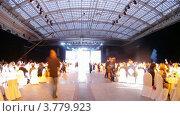 Купить «Гости на церемонии награждения победителей премии Брэнд года EFFIE 2011, таймлапс», видеоролик № 3779923, снято 27 мая 2012 г. (c) Losevsky Pavel / Фотобанк Лори