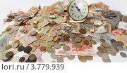 Купить «Время деньги», фото № 3779939, снято 25 августа 2012 г. (c) Сухарькова Светлана / Фотобанк Лори