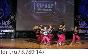 Купить «Хип-хоп группа 8FM танцует на сцене Дворца Культуры, таймлапс», видеоролик № 3780147, снято 16 апреля 2012 г. (c) Losevsky Pavel / Фотобанк Лори