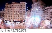 Купить «Вечерний Мадрид, таймлапс», видеоролик № 3780979, снято 19 апреля 2012 г. (c) Losevsky Pavel / Фотобанк Лори
