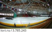 Купить «Машина ездит по льду(таймлапс)», видеоролик № 3785243, снято 29 мая 2012 г. (c) Losevsky Pavel / Фотобанк Лори