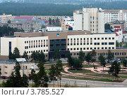 Здание администрация города Когалыма (2012 год). Стоковое фото, фотограф Бордачёва Светлана / Фотобанк Лори