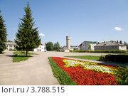 Центральная площадь, Западная Двина (2012 год). Стоковое фото, фотограф Вячеслав Потапов / Фотобанк Лори