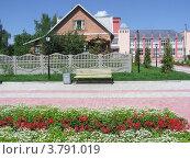 Провинциальный городок (2005 год). Стоковое фото, фотограф Нина М / Фотобанк Лори