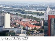Купить «Панорама современной Вены», фото № 3793623, снято 15 августа 2012 г. (c) Наталья Волкова / Фотобанк Лори