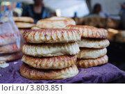 Лепешки на рынке (2012 год). Стоковое фото, фотограф Айгуль Лотфуллина / Фотобанк Лори