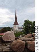 Башня в старом городе ,Таллин (2011 год). Стоковое фото, фотограф Федюнин Александр / Фотобанк Лори